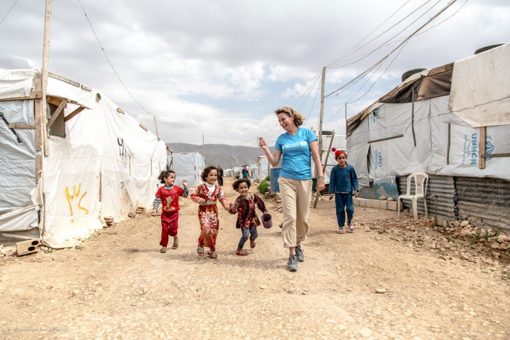 Jacqueline van den Heuvel Unicef Libanon Claudia de Breij